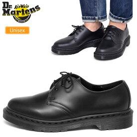 【正規取扱店】ドクターマーチン 3ホールシューズ Dr.Martens 1461 モノ ポストマンシューズ[ブラック](14345001)1461 MONO 3 EYE SHOE メンズ レディース【靴】 1712ripe