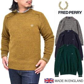 【SALE/30%OFF】フレッドペリー FRED PERRY クルーネックセーター[全4色](F3198)CREW NECK SWEATER メンズ【服】_1810ripe【返品交換・ラッピング不可】