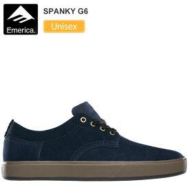 エメリカ スニーカー EMERICA スパンキー G6[ネイビー/ガム](23-29cm)SPANKY G6メンズ レディース【靴】_snk_1906ripe