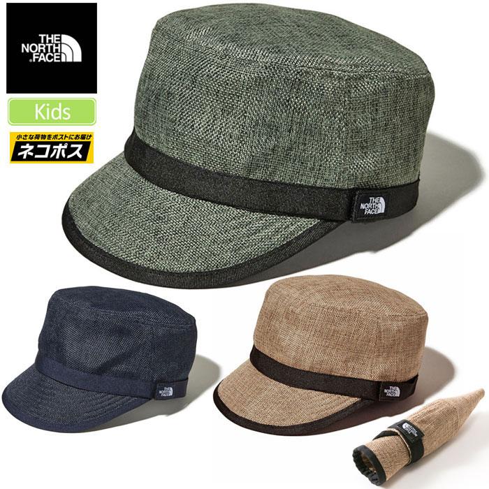 ノースフェイス 帽子 THE NORTH FACE キッズ ハイクキャップ[全3色](NNJ01811)KIDS HIKE CAP キッズ レディース_1903ripe[M便 1/1]