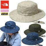 ノースフェイス帽子THENORTHFACEレディースノベルティーサンライズハット[全3色](NNW01831)NOVELTYSUNRISEHAT_1905ripe[M便1/1]
