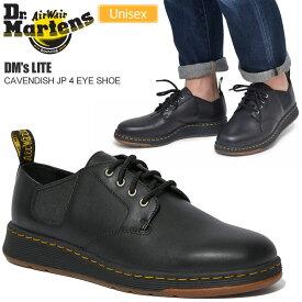 【正規取扱店】ドクターマーチン Dr.Martens DM's LITE キャバンディッシュ JP(ブラック)(24980001 22-28cm)CAVENDISH JP 4 EYE SHOE メンズ レディース【靴】 1909ripe