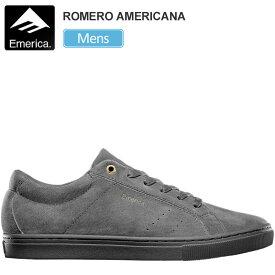 エメリカ スニーカー EMERICA ロメロアメリカーナ【グレー/グレー】(26-29cm)THE ROMERO AMERICANA メンズ【靴】_snk_1909ripe
