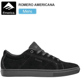 エメリカ スニーカー EMERICA ロメロアメリカーナ【ブラック/ブラック/ガム】(25-28.5cm)THE ROMERO AMERICANA メンズ【靴】_snk_1909ripe
