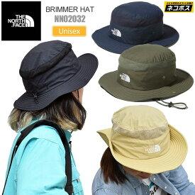 【正規取扱店】ノースフェイス THE NORTH FACE 帽子 UVケア メンズ レディース ブリマーハット BRIMMER HAT ブラック ヘンプ ニュートープ ネイビー NN02032 20SS 2005ripe[M便 1/1]