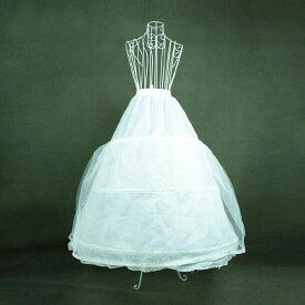 パニエ ワイヤーパニエ ウェディングドレス ワイヤー3本入り フリーサイズ サイズ調整可能 どんなドレスにも合う/二次会/コンパクト収納/小物/演奏会/お嫁さん/手袋/花嫁♪DORES-AC001