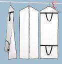 ドレスバッグ  ドレスカバー 袋 ドレスの収納や移動に便利♪ 手持ち 肩掛け 収納袋 ロングトレーン対応  保…
