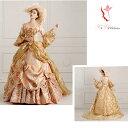 貴族衣装 kzk-004 高級 ドレス リボン 豪華な中世貴族風お姫様ドレス 舞台衣装やステージ衣装 ドレス  刺繍/…