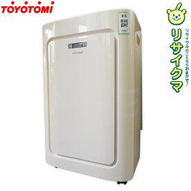 【中古】M▽TOYOTOMI トヨトミ スポット冷暖エアコン 2016年 工事不要 除湿 床置き TAD-22GW (19987)
