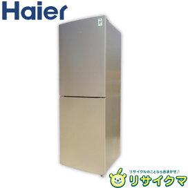 【中古】D▼ハイアール 冷蔵庫 218L 2016年 2ドア 大容量 引出フリーザ JR-NF218A (12354)