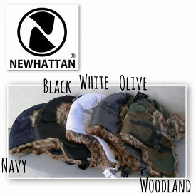 5705995■2a9w13 帽子 5colors NEWHATTAN WATERPROOF FRIGHTCAP 6007 ウォータープルーフ フライトキャップ 飛行帽 パイロット アビエーター ロシア 男女兼用 撥水