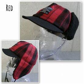 5775559■2a9w15 帽子 3colors バッファロー チェック トラッパーキャップ イヤー フラップ ボア フライト キャップ 飛行帽 メンズ レディース 男女兼用