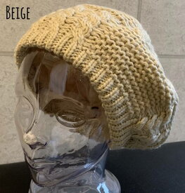 7406002■0a1w 帽子 5colors ベレー帽 ボア ファー ライナー モコモコ質感 ケーブル ニット ベレー トレンド 秋 冬 もこもこ レディース メンズ