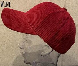 7179422■0a1w 帽子 5colors 今だけ価格 特価 プチプラ 帽子 コーデュロイ ロー キャップ カーブ シンプル サイズ調整 秋 冬 男女兼用 定番 CAP 無地