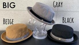 7247373■0a1w 帽子 3colors ファビュラス Fabulous スエット スウェット チャーム付き ポークパイ ハット 男女兼用 オールシーズン 大きいサイズ あり