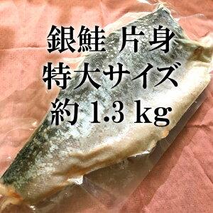 銀鮭 片身 フィーレ (約1300g)業務用  やまいち干物 父の日 母の日 ギフト 贈り物 【鮭 甘塩銀鮭 サーモン 切り身 鮭切り身 甘塩鮭切り身 魚 塩焼き ご飯のお供 お弁当 酒のつまみ 切り身】