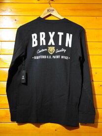 BRIXTON(ブリクストン) 2016年春夏 長袖Tシャツ ブラック 【メンズ/ロック/サーファー/スケーター/サーフ】