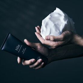 【あす楽】洗顔 メンズ 洗顔料 ニキビ 洗顔フォーム 泡 メンズ ホワイトクレイ 洗顔料 スキンケア 150g 幸せラボ Nile (ナイル)