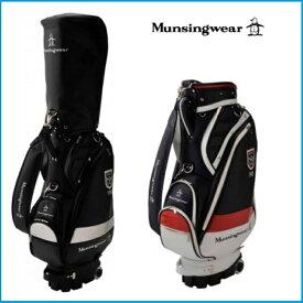 ☆2019年 Munsing wear マンシングウェア MQBNJJ01 キャディーバッグ ブラック/ネイビー
