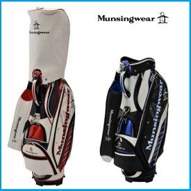 ☆2019年 Munsing wear マンシングウェア MQBNJJ03 キャディーバッグ ブラック/ホワイト