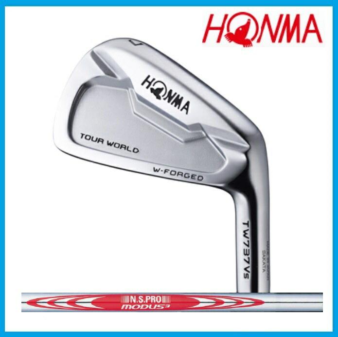 ☆ホンマゴルフ ツアーワールド HONMA GOLF TW737Vs アイアン 6本セット(#5-10) NSPRO MODUS3 TOUR105 シャフト