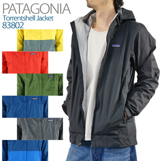 巴他戈尼亚趋势男式紧身茄克衣人Patagonia Men's Torrentshell Jacket(83801)pa9