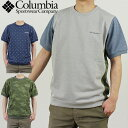 【クーポン利用で全員500円OFF】Columbia コロンビア メンズ UVカット 半袖 Tシャツ Goodhope Vines Patterned Short …