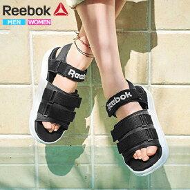 【クーポンでさらに200円OFF】リーボック サンダル レディース メンズ スポーツサンダル ブラック Reebok CLASSIC ROYAL SANDAL CN5494 (rbk001)