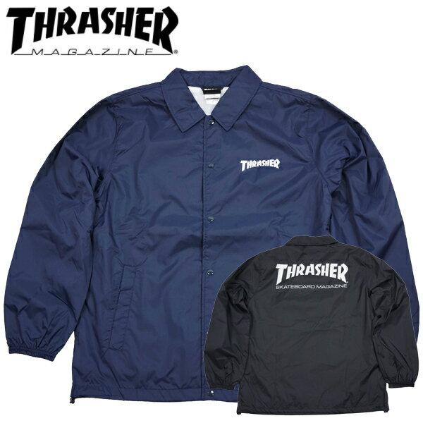 スラッシャー THRASHER マグロゴプリント コーチジャケット ナイロンジャケット ウインドブレーカー ジャンパースケーター TH8901C thrasher35