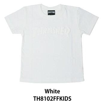 スラッシャー/Tシャツ/キッズ/THRASHER/Foaming/HOMETOWN/S/S/TEE/TH8102FFKIDS/thrasher92