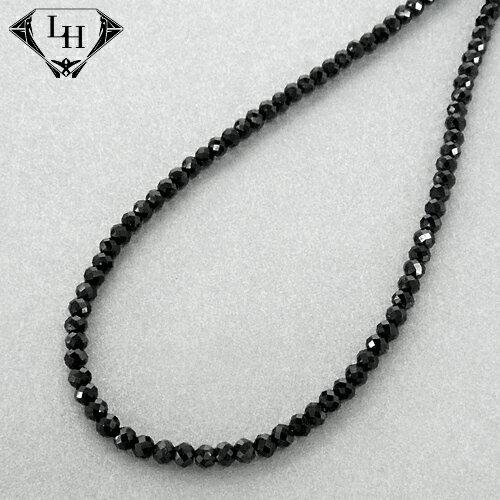 ライオンハート LH-1 BEADS ブラックスピネル ネックレス 01NC0108BK LION HEART ネックレス ライオンハートネックレス [LH]
