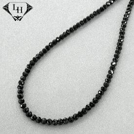 ライオンハート LH-1 BEADS ブラックスピネル ネックレス 01NC0108BK LION HEART ネックレス [LH] メンズ ブランド ギフト(誕生日 プレゼント) 送料無料