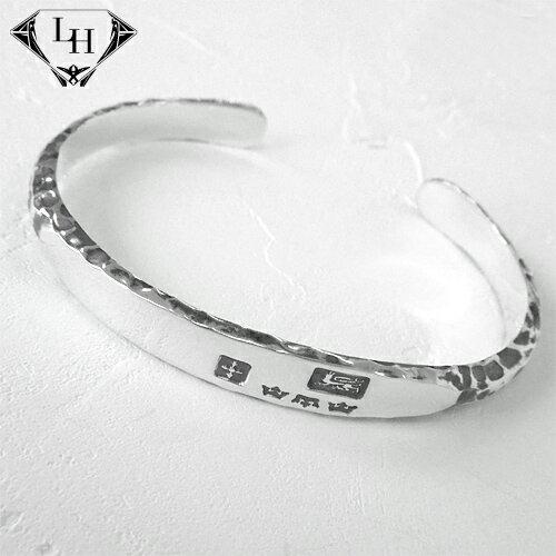 LION HEART BASIC Blacksmith シルバーメンズ バングル 01BA0011SV ライオンハート メンズ バングル 【楽ギフ】[即納可]【RCP】[Rism]