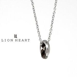 LION HEART LH-1 CATEGORY NUMBER ナンバー「1」 モノトーンネックレス ブラック 03NE0015BK ライオンハート ステンレス...