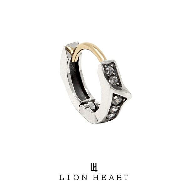 LION HEART PROGRESSO プログレッソフープピアス/SV 01EA0091CL ライオンハート シルバー ピアス 1点売り 片耳用 [LH]