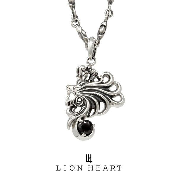 LION HEART HOWL ハウルネックレス 01NE0051BK ライオンハート シルバーネックレス [LH]
