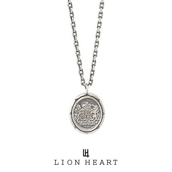 LION HEART Petite Modern プチネックレス 【イギリス国章コイン】 シルバー 01NE0181SV ライオンハート プチモダン メンズ レディース ネックレス [LH]