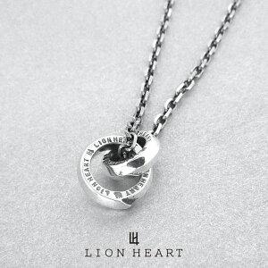 ライオンハート フェザーダブルリングネックレス/シルバー925 01NE0791SV LION HEART for Gift [LH] ギフト(誕生日 プレゼント) 送料無料 メンズ 人気ブランド