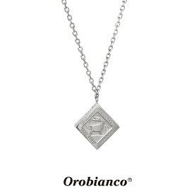 オロビアンコ ネックレス OREN024BKB (ガンメタルグレー) シルバー925 チェーン40+5cm Orobianco Necklace ブランド メンズ レディース ギフト(誕生日 プレゼント) 送料無料