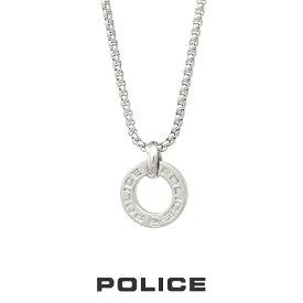 """ポリス """"HALLOW"""" スモールサイズ リングトップ 25987PSS01 POLICE ステンレスネックレス ネックレス メンズ"""