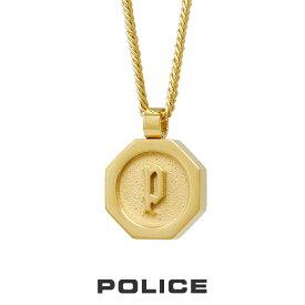 """ポリス """"TOKEN"""" ネックレス ゴールド 26155PSG POLICE ステンレス メンズ [PS]"""