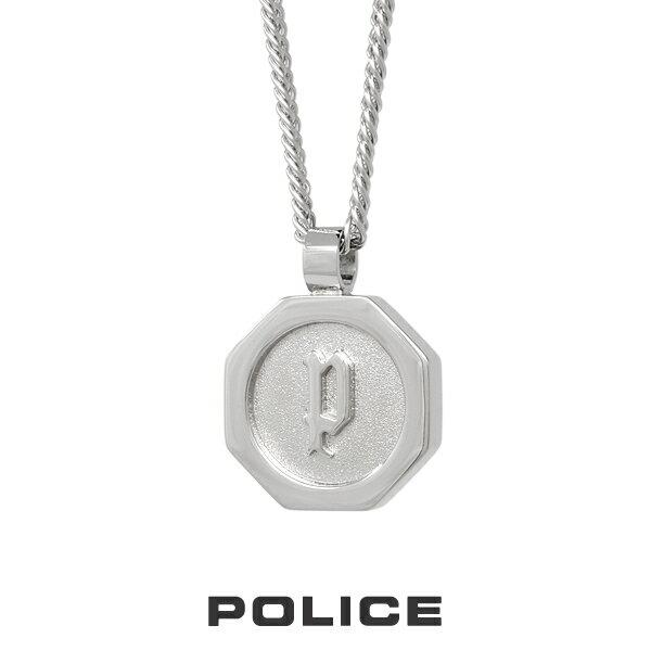 "POLICE ""TOKEN"" ステンレスネックレス 26155PSS ポリスネックレス メンズ [PS]"