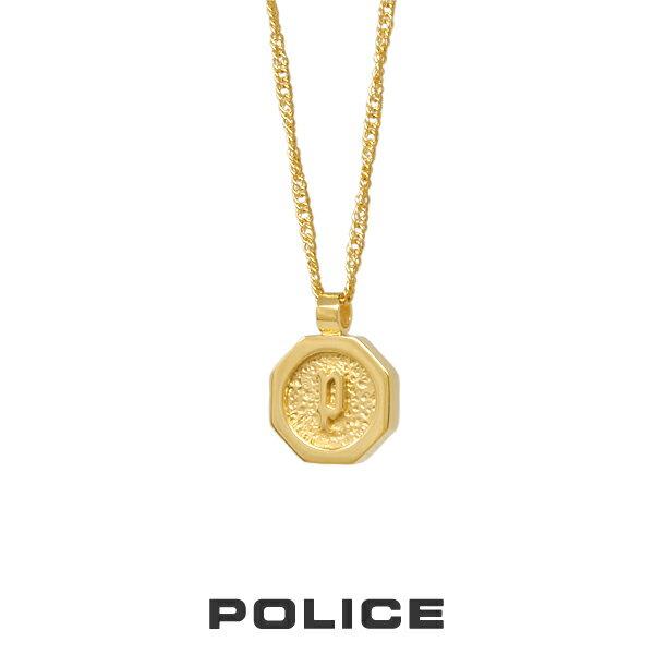 """POLICE """"TOKEN"""" piccolo ネックレス ゴールド 26377PSG02 ポリス ステンレス [PS]"""