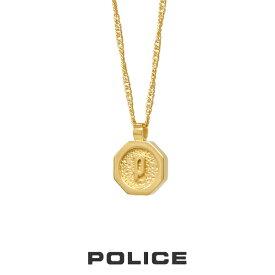 """ポリス """"TOKEN"""" piccolo ネックレス ゴールド 26377PSG02 POLICE ステンレス [PS]"""