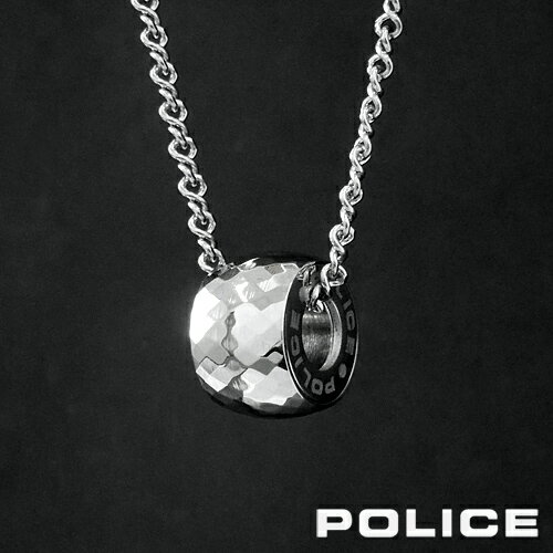 POLICE ESSENCE ステンレスリングネックレス 26152PSS ポリス ポリスネックレス メンズ