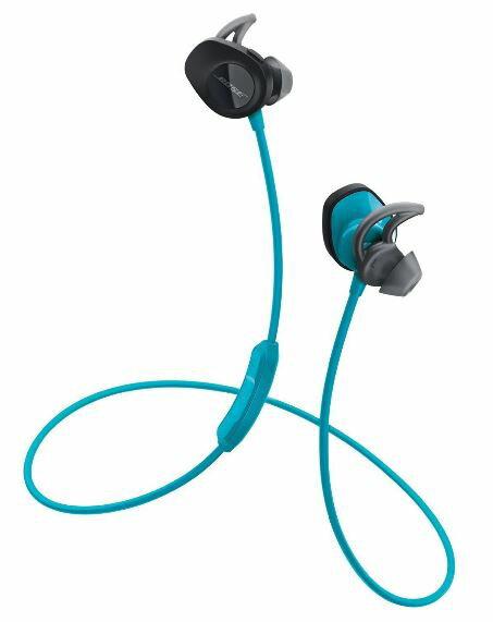 アウトレット品 特価 純正品 Bose ワイヤレススポーツイヤホン SoundSport 防滴仕様/Bluetooth・NFC対応/リモコン・マイク付き/通話可能 アクア