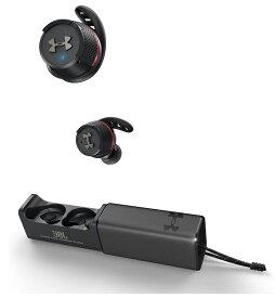 JBL 完全ワイヤレスイヤホン UA SPORT WIRELESS FLASH /IPX7/Bluetooth対応 アンダーアーマー ブラック UAJBLFLASHBLK 【国内正規品】