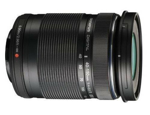 新品 オリンパス OLYMPUS M.ZUIKO DIGITAL ED 40-150mm F4.0-5.6 R ブラック 望遠レンズ