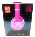 Beats アメリカ正規品Beats by Dr.Dre Studio V2 密閉型ヘッドホン ノイズキャンセリング Limited Edition Pink