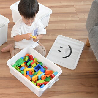 Play On Smile Box S Size Storage Toy Plastic Nursery Cute Stacking Accessories Colorful Toys